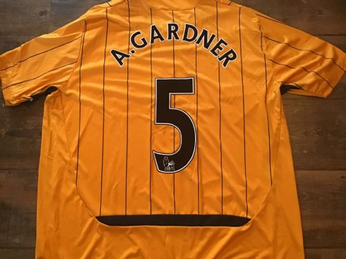 2009 2010 Hull City Gardner BNWT Player Home Football Shirt 2XL